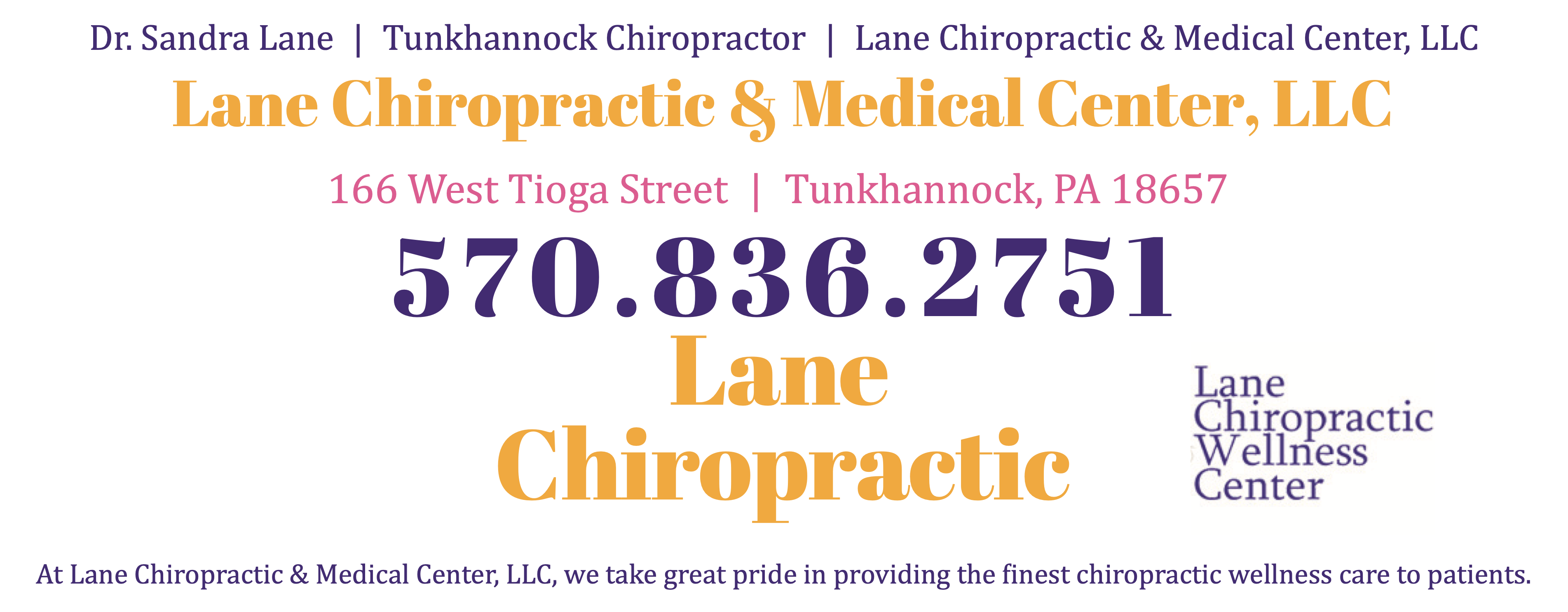 Lane Chiropractic