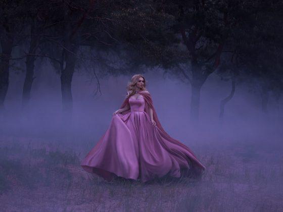 The Pink Lady Phantom, A Spooky Story